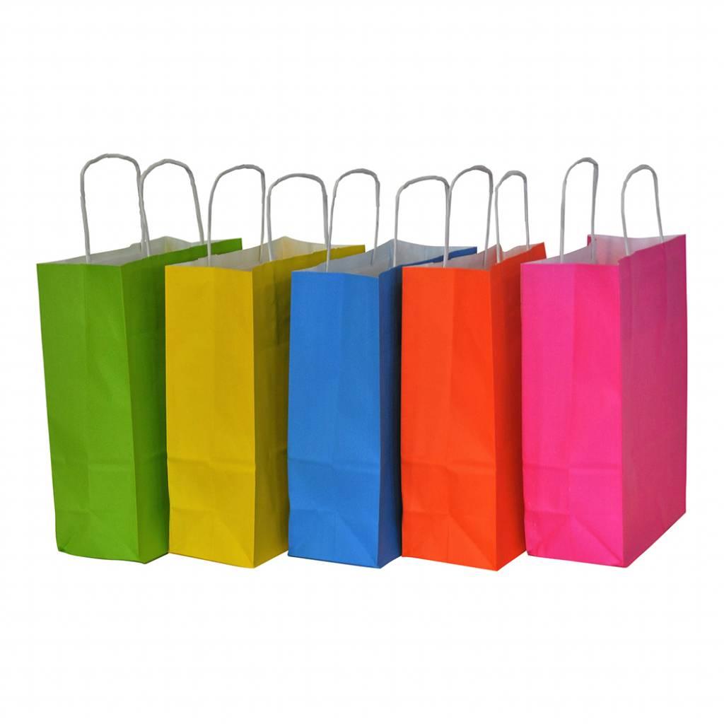 papieren tasjes kleuren