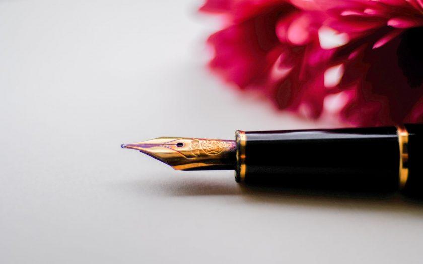 Een pen als mooi cadeau