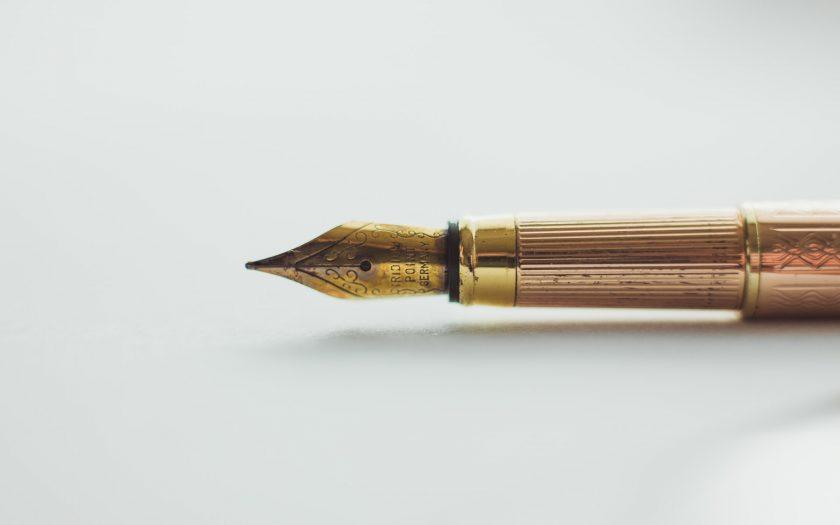 Een mooie pen cadeau doen